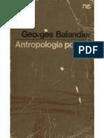 Antropología Política_Georges Balandier