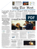 The Daily Tar Heel for Feb. 11, 2015