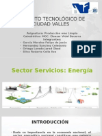 Sector Servicios Energia