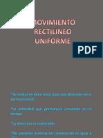 Presentación MRU 3