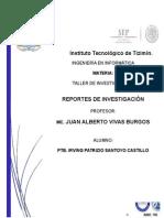 Reportes de Investigacion