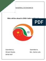 India China 2030