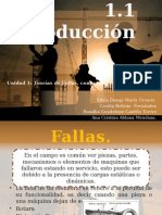 1.1 Introduccion Fallas