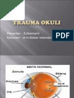 Presentasi Trauma Okuli
