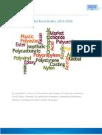 Global Resin Market Brochure