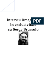 Interviu (Imaginar) in Exclusivitate Cu Serge Brussolo v.2.0