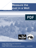 Water Level Booklet