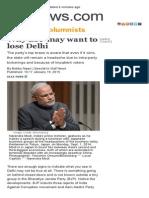 Why BJP May Want to Lose Delhi _ GulfNews