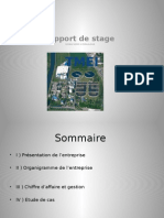 Rapport stage SOGEA hydraulique
