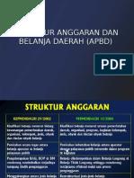 Struktur APBD Pengelompokan Belanja Permendagri 13 2006