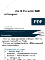 4. Introduction of the Latest NDI Techniques