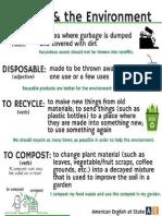 Disposing Poster