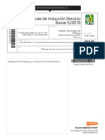 Ticket - EventBrite