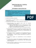 1. Cortes Geológicos