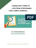 31 techniques pour tripler le trafic de votre blog et développer votre chiffre d.docx