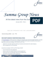 Summa Group News 2015 - January PT1