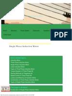 Single Phase Induction Motor _ Electrical4u