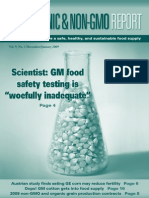 Organic & Non GMO Report Dec Jan 2009