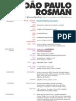 Currículo João Paulo Rosman