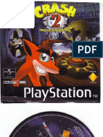 Crash bandicoot 2 psone cover