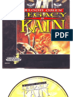 Legacy of kain psone cd cover