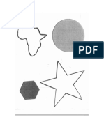 African Shapes and Versus to Print, Copy, Etc.