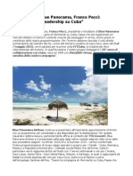 Franco Pecci Distalnet confermiamo Leadership Su Cuba