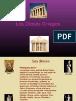 presentación dioses griegos