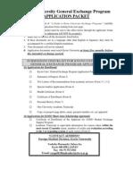 2010-11 General Application Form