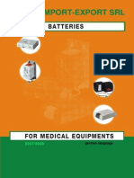 Medical Batteries Catalog 1