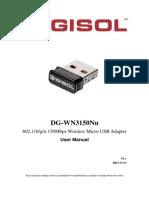 DG-WN3150Nu User Manual