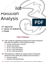 Actix Pilot Pollution Analysis
