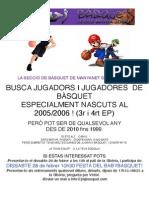 Promo Basquet
