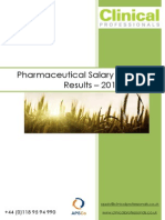 Pharmaceutical Salary Survey 2013