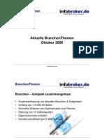 BranchenThemen Oktober 2009