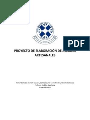 Plan de Negocios Jabones Artesanales | Publicidad | Residuos