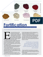 Fortification -  effect of different iron compounds on the colour of dried noodles and pasta