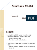 Lecture 6 Stacks
