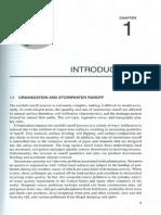 Urban Hydrology,Hydraulics Chapter 01