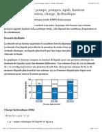 Rendement moteur pompe, pompes, npsh, hauteur manometrique, pression, charge, hydraulique.pdf
