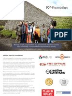 What Does the P2P Foundation Do? 2015