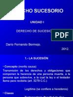 Derecho Sucesorio (Unidad I).ppt