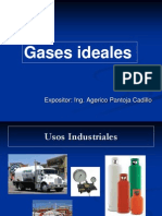 Gases ideales y reales