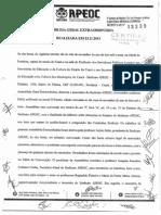 Reforma Fantasma APEOC (23/11/2013)