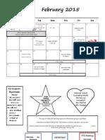Parent Calendar 2-15