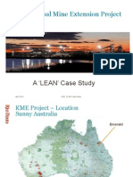 Lean Case Study -Rio Tinto - Kestrel Coal Mine Extension Project - Rev 2014