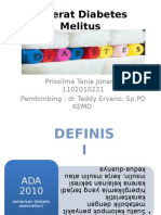 Referat Diabetes Melitus Prissilma