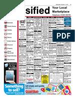 GUA Classified Adverts 110215