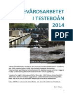 Årsberättelse  Testeboån 2014