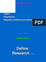 Research Methodology -Slide 1